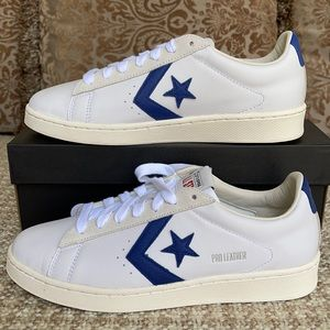 Converse Pro Leather Low 'White Rush Blue' Men's
